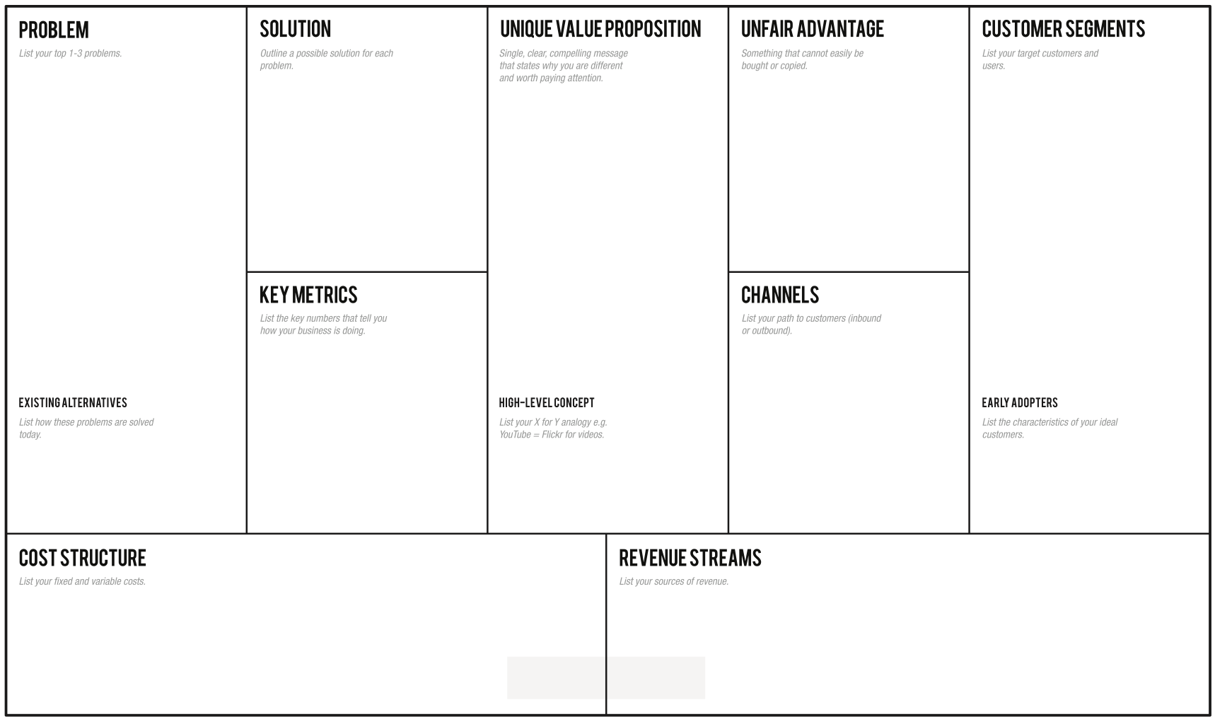 30 Page Business Plan   LEANSTACK
